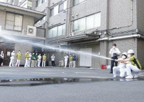 万が一への備えは万全に!消防訓練を実施しました。